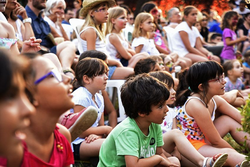 Racó Infantil de Festa Major. Foto: Bernat Millet.