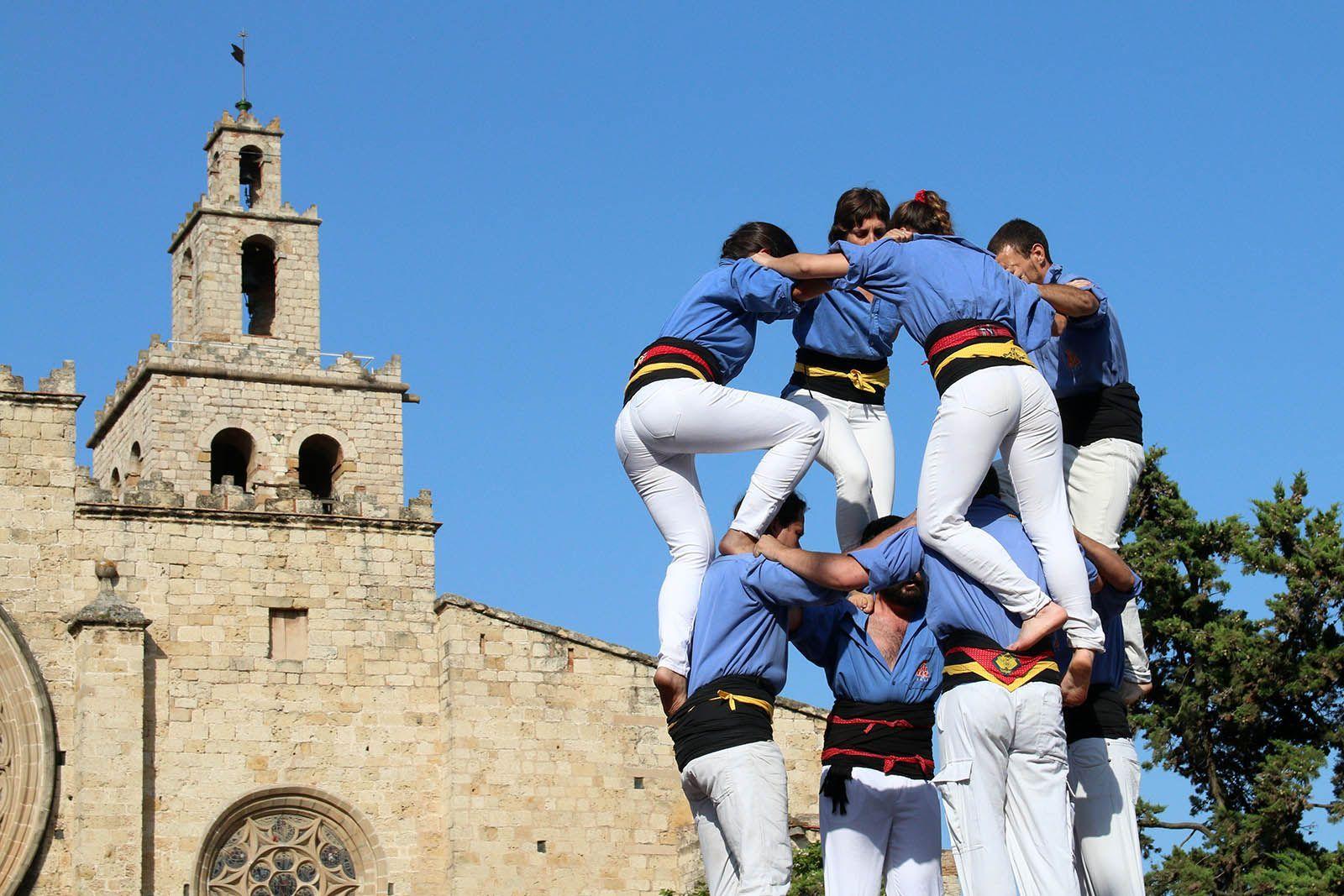 XXIII Actuació Castellera de Festa Major. Foto: Lali Álvarez