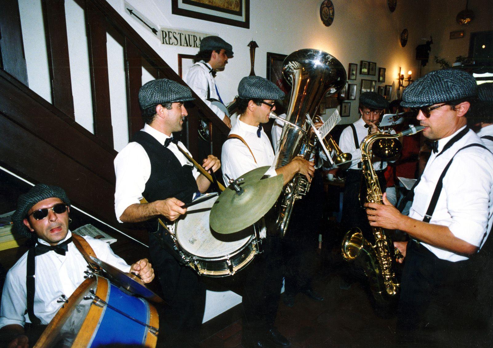 Festa Major durant els anys '90. Foto: Arxiu.