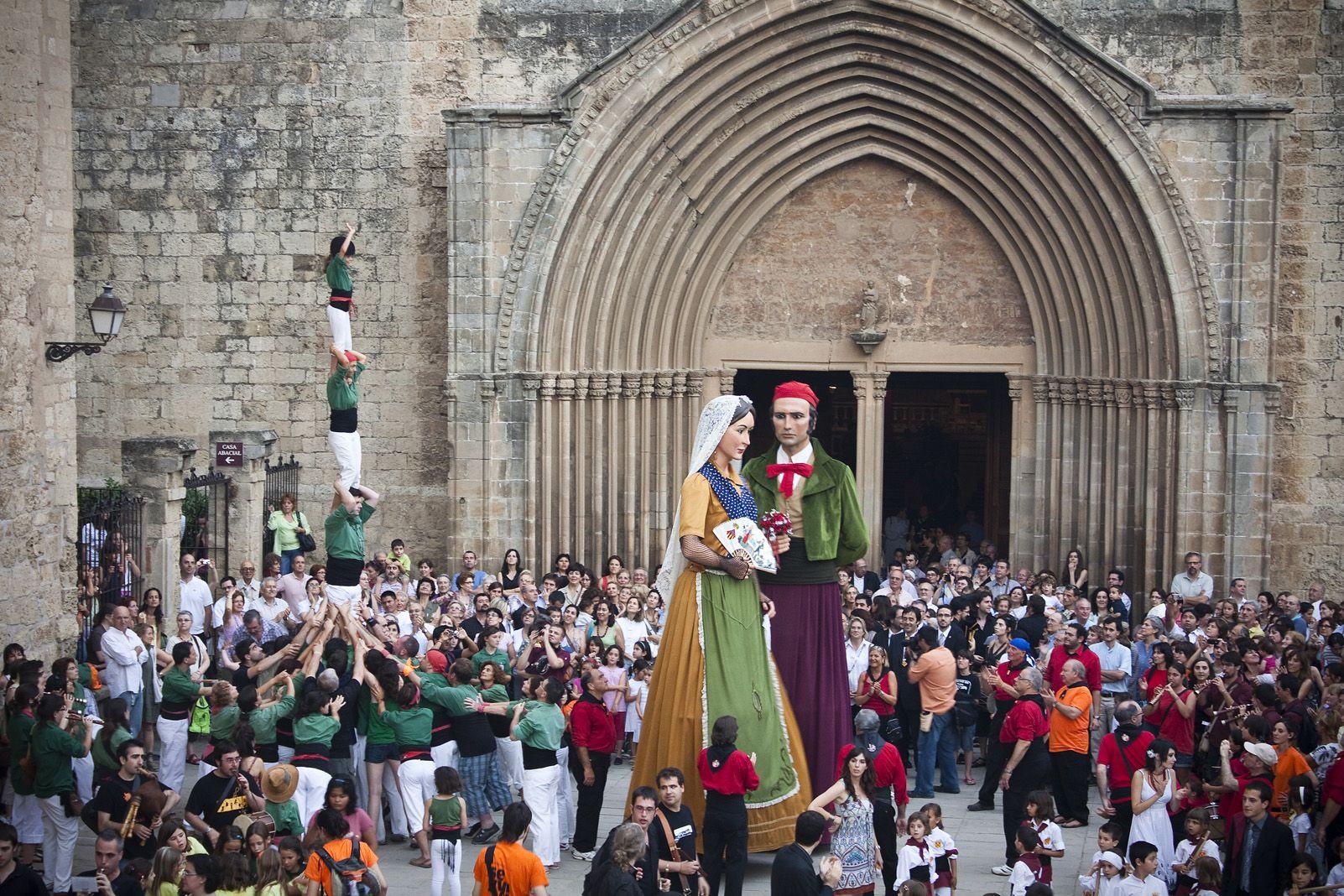Paga-li Joan de Festa Major de 2010. Foto: Artur Ribera.