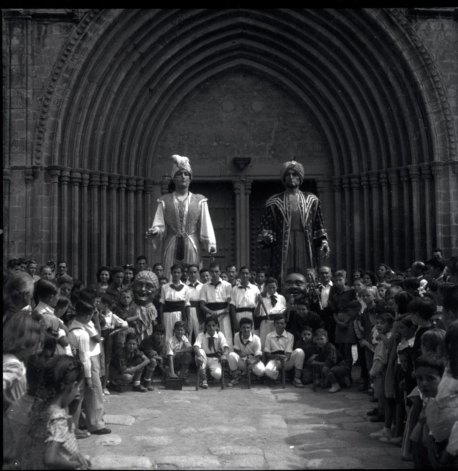 Trobada cultural a l'any 1948. Fons Cabanas (fotògrafs). AMSCV