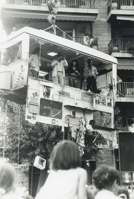 Teatre al carrer l'any 1992. Foto: Mané Espinosa.