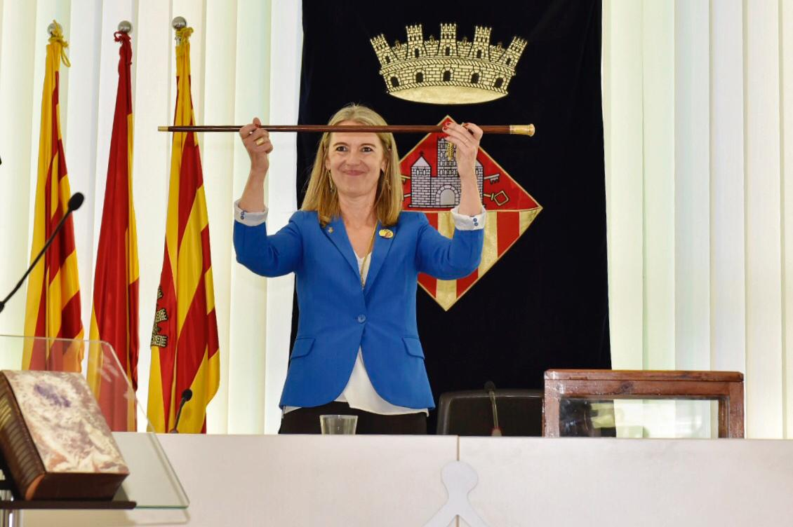 Mireia Ingla, nova alcaldessa de Sant Cugat del Vallès FOTO: Miguel López Mallach