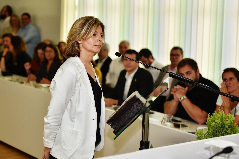 Carmela Fortuny, portaveu de Junts per Sant Cugat. FOTO: Miguel López Mallach