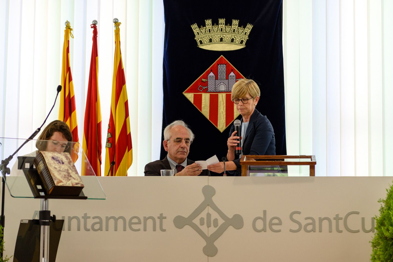 Recompte dels vots per escollir alcaldessa. FOTO: Miguel López Mallach