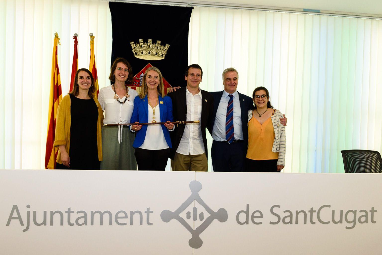 Els regidors d'ERC-MES. FOTO: Miguel López Mallach
