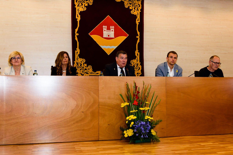 Moments de la constitució de la Junta de Veïns de Valldoreix. FOTO: Miguel López Mallach