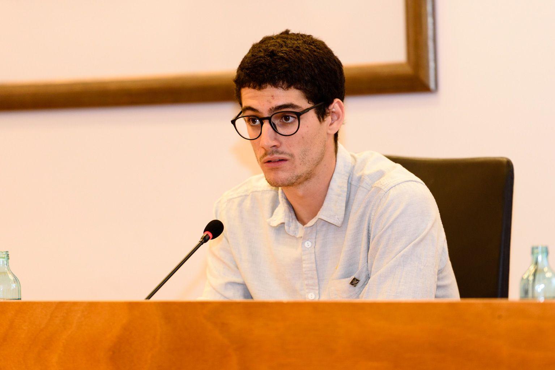 Lluc Cahís, vocal d'ERC. FOTO: Miguel López Mallach