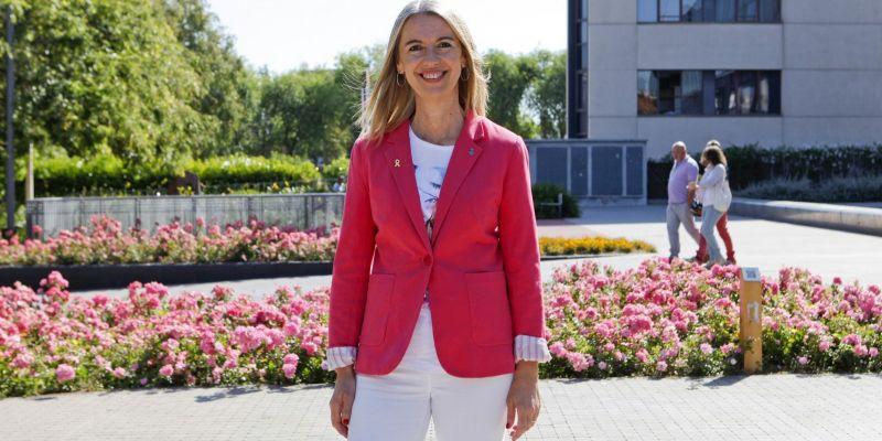 Mireia Ingla era investida alcaldessa el 15 de juny. FOTO: Bernat Millet
