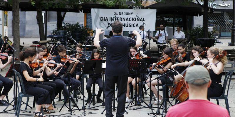 Sant Cugat s'impregna d'art i cultura celebrant el Dia Internacional de la Música
