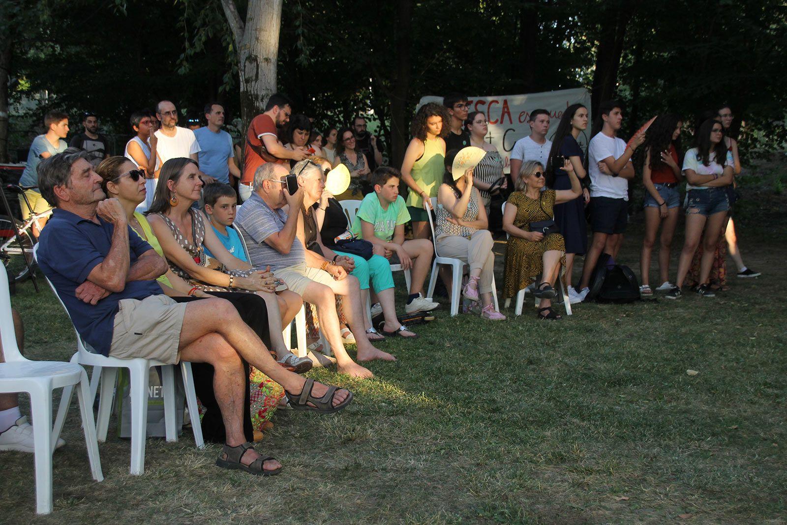 Comença la FMA amb Fridays For Future com a pregoners. FOTO: Paula Galván