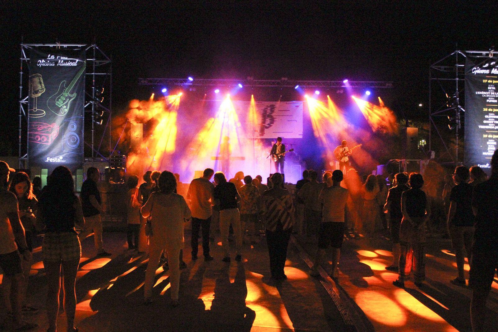 Concerts a la DesPlaça Jove. Foto: Alex Gomez