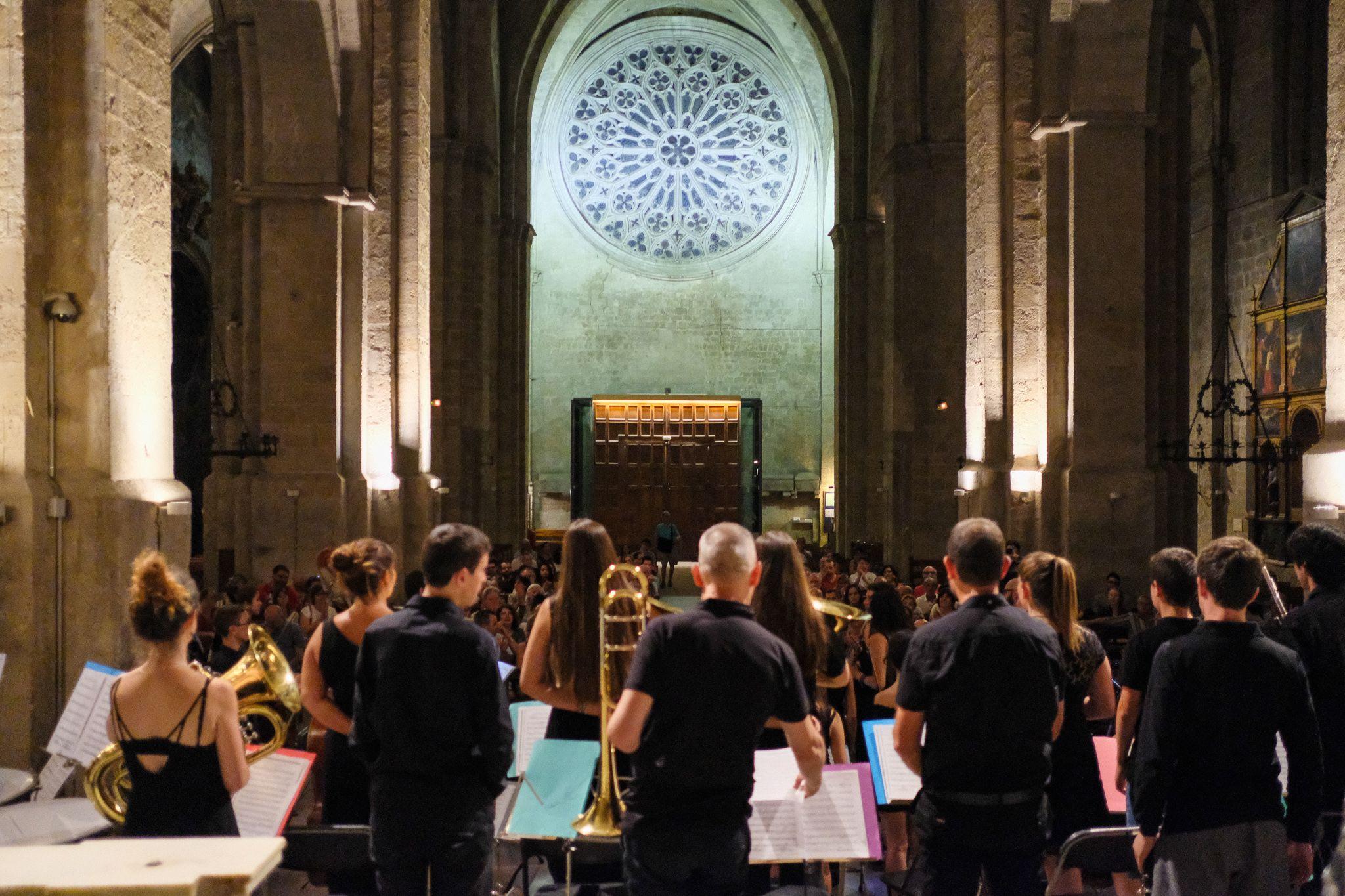 Concert de l'Orquestra Simfònica Fusió Sant Cugat. Foto: Alex Gomez