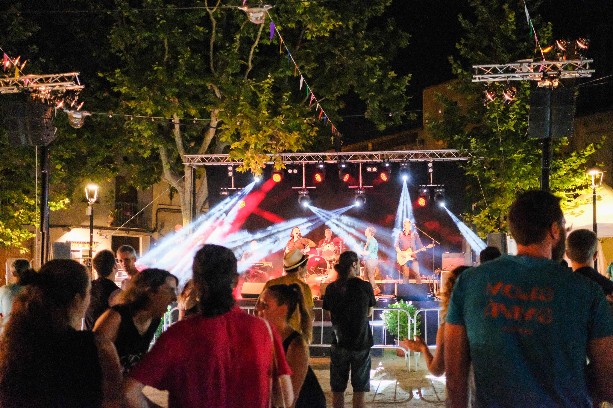 Nit de concert de Flamingo Tours. Foto: Alex Gomez
