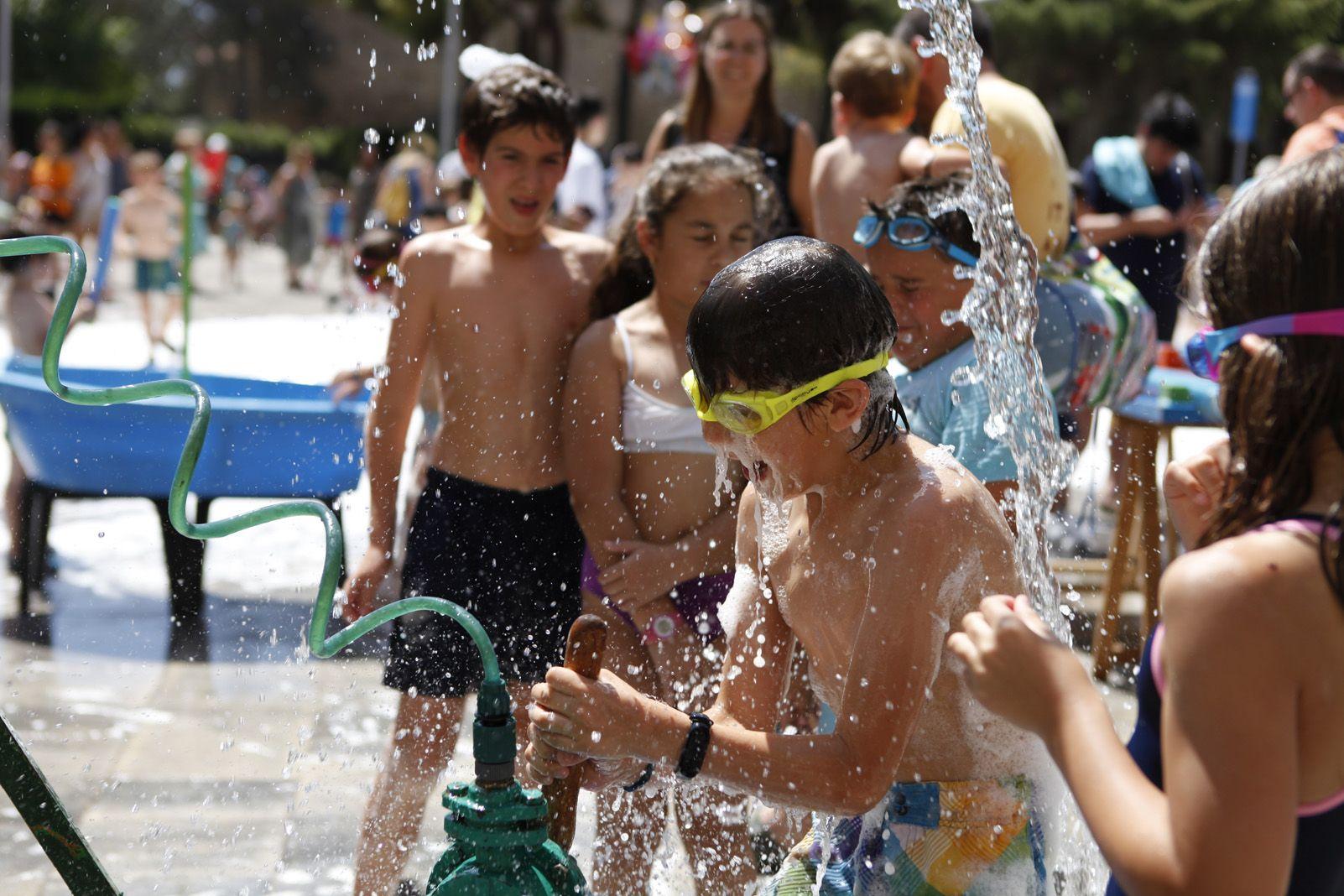 Festa de l'aigua. Foto: Bernat Millet.