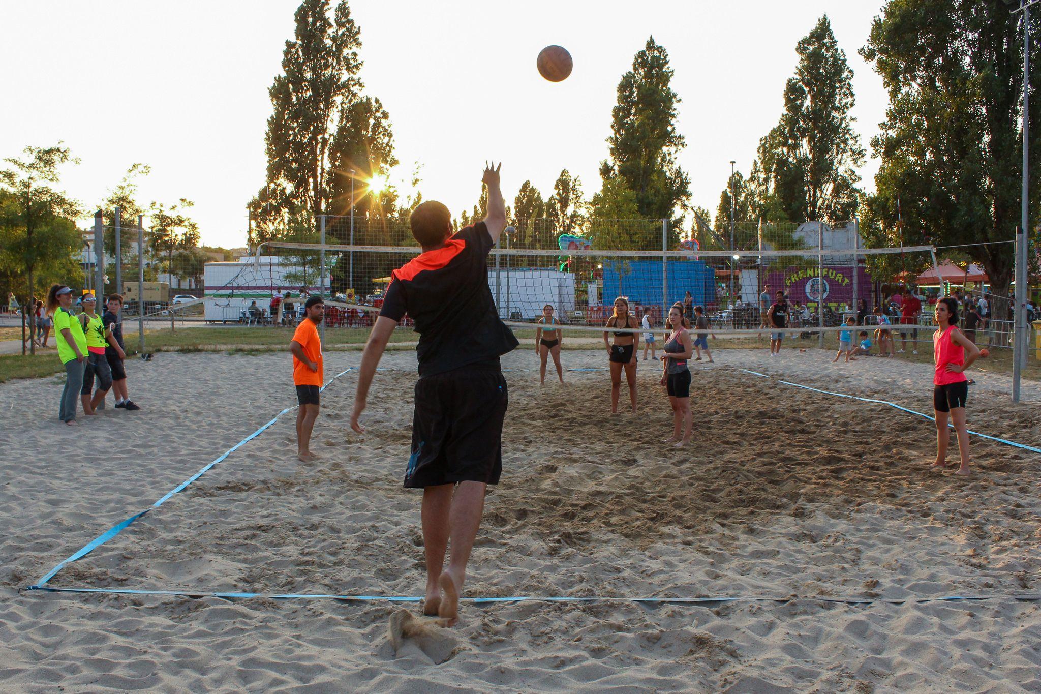 Torneig Voleibol Platja. Foto: Alex Gómez