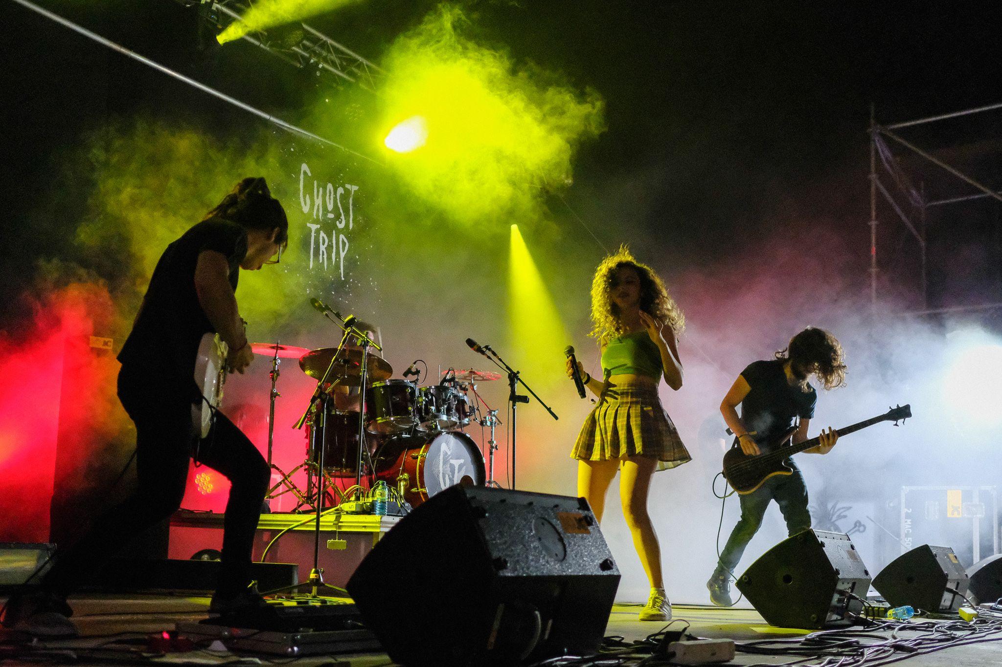 Concert de Ghost Trip a la DesPlaça. Foto: Alex Gómez