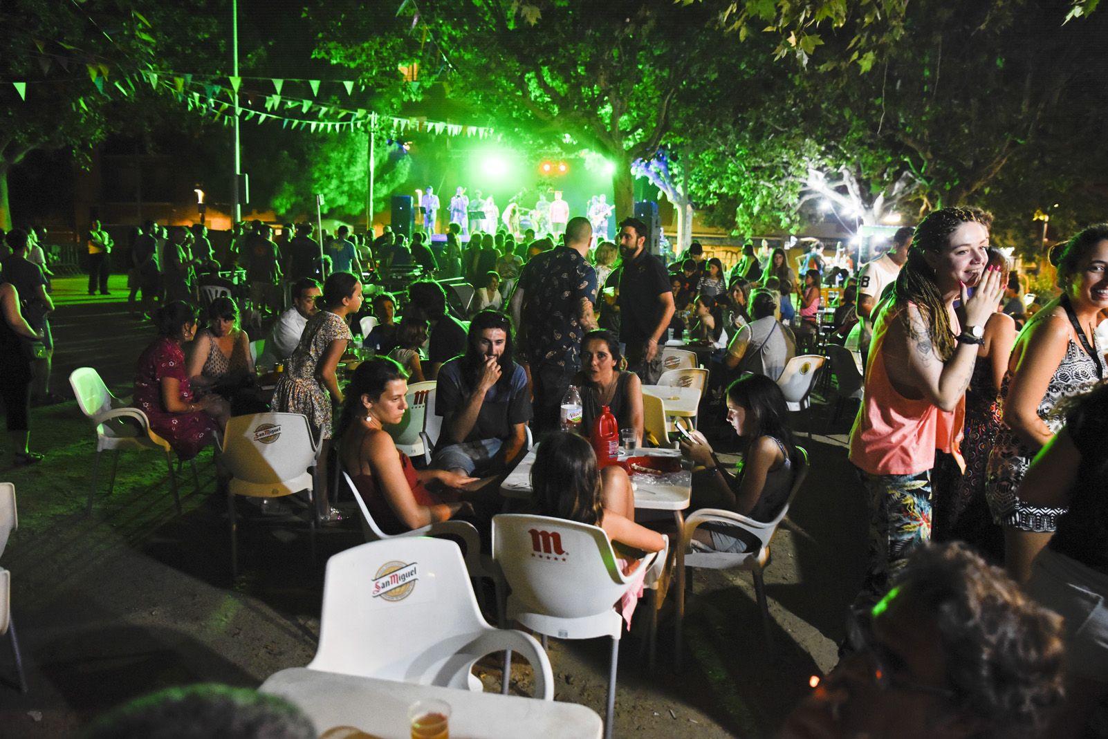 Graellades de Festa Major. Foto: Bernat Millet.