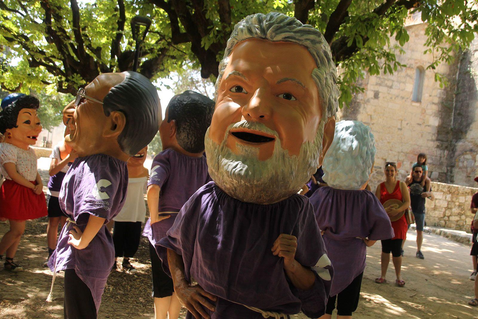Ball de Caparrots i Capgrossos per Festa Major 2019. FOTO: Paula Galván