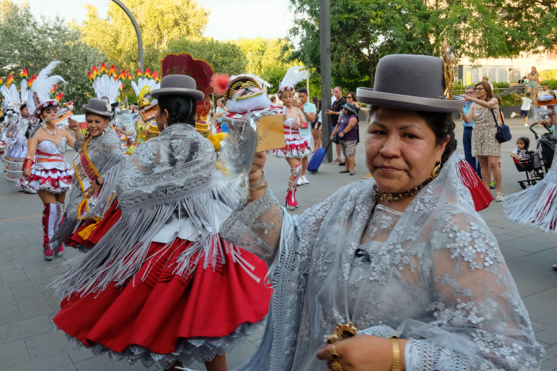 Rua de balls tradicionals, de Bolívia a Sant Cugat. Foto: Alex Gómez