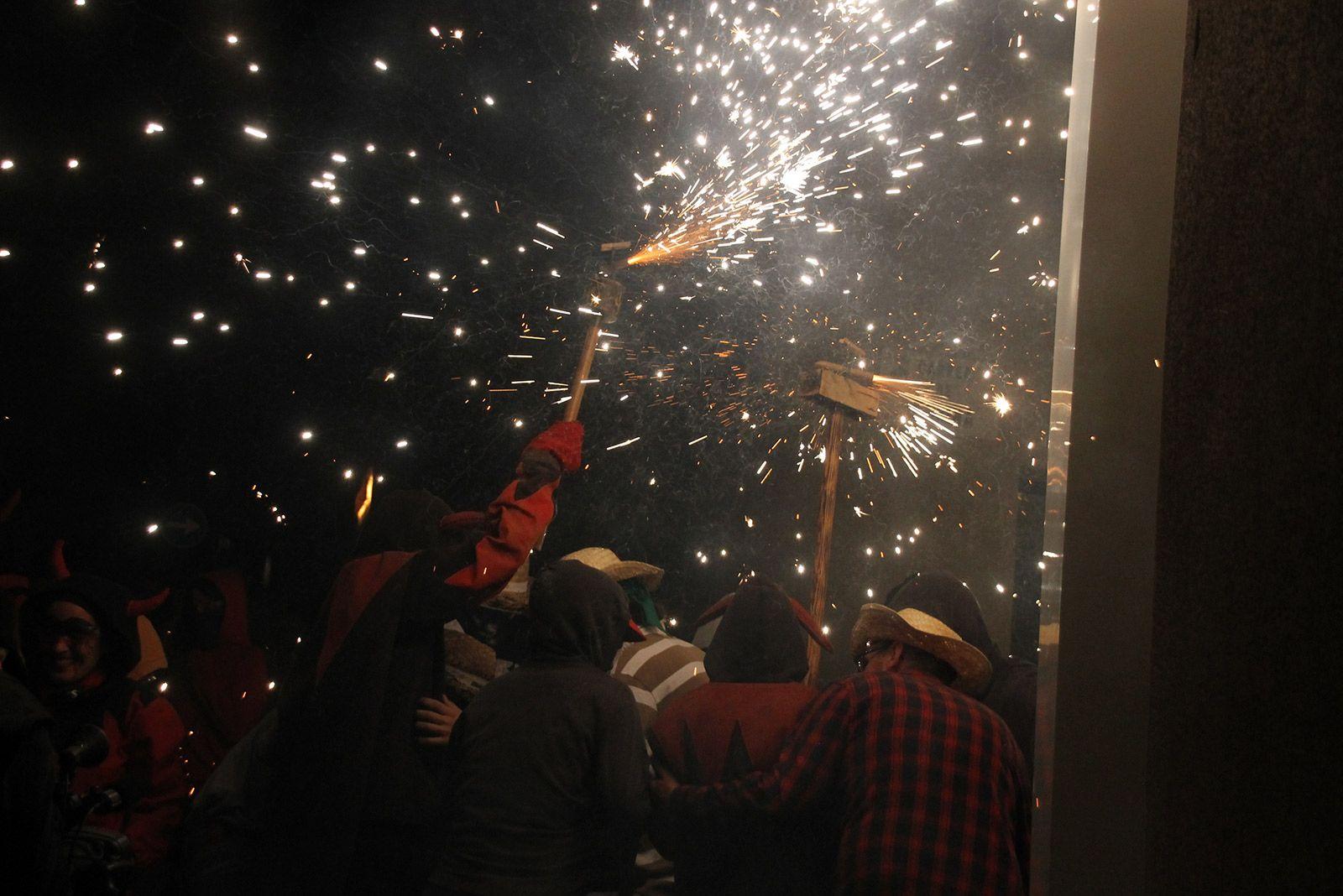 Correfoc de Festa Major. FOTO: Paula Galván