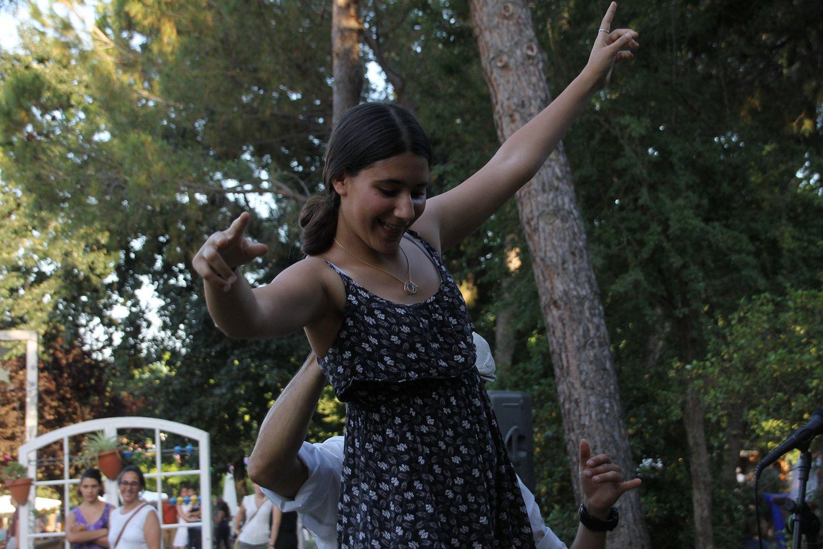 Racó infantil de Festa Major al Parc Central. FOTO: Paula Galván