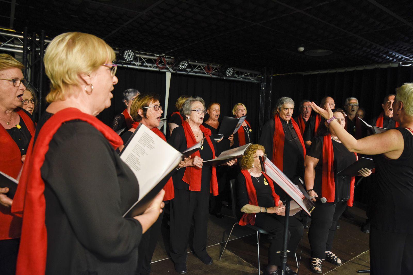 Concert de Coral de Festa Major. Foto: Bernat Millet.