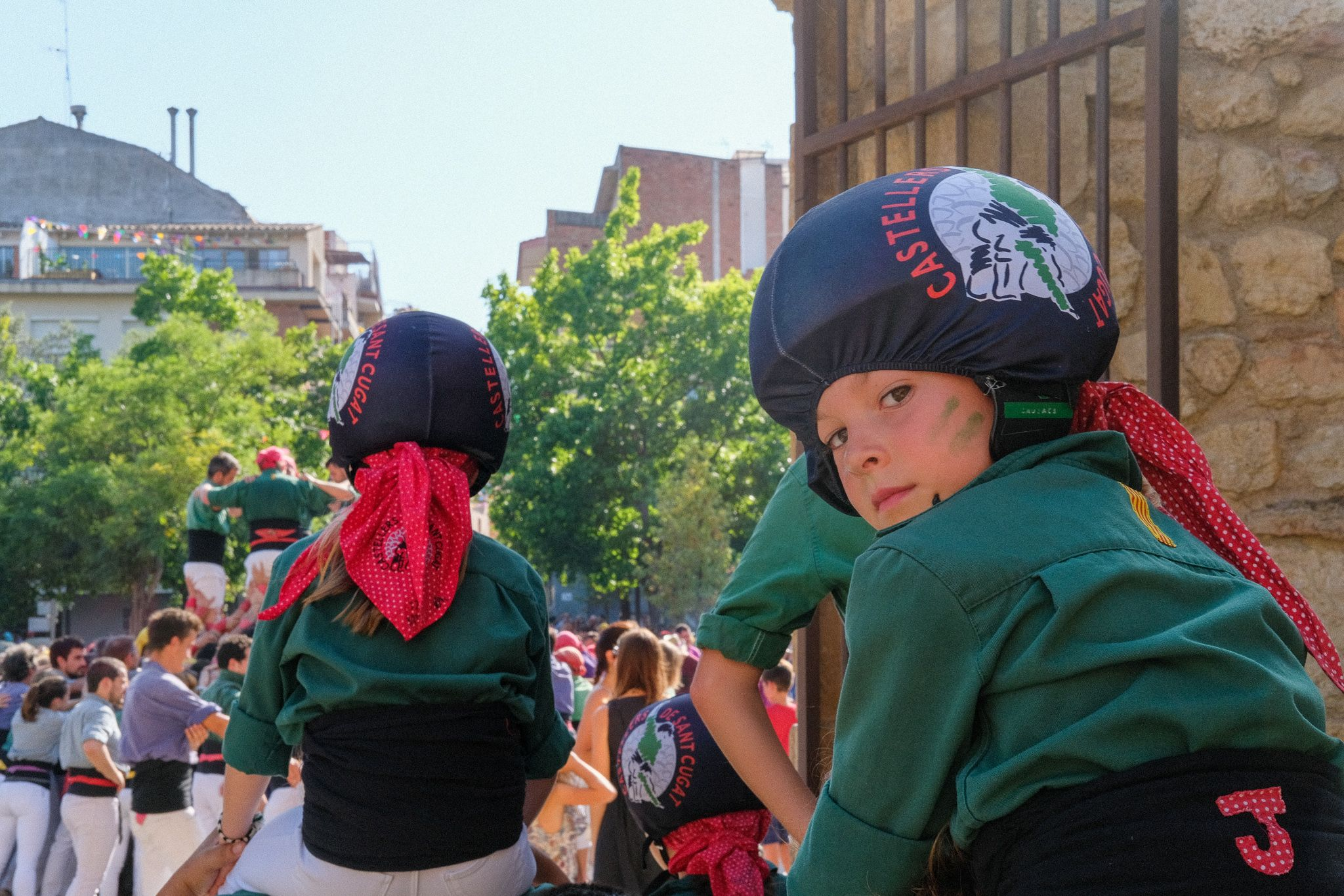 XXIV Diada Castellera de Festa Major. Foto: Alex Gómez