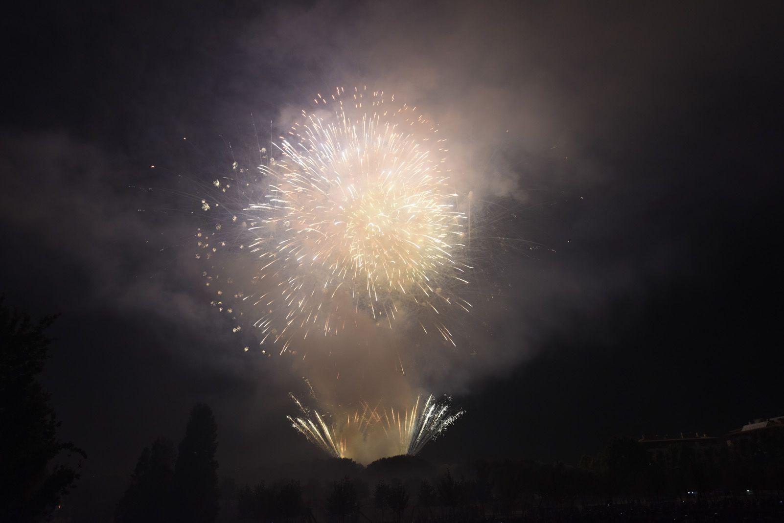 Castell de Focs de Festa Major 2019. Foto: Bernat Millet.