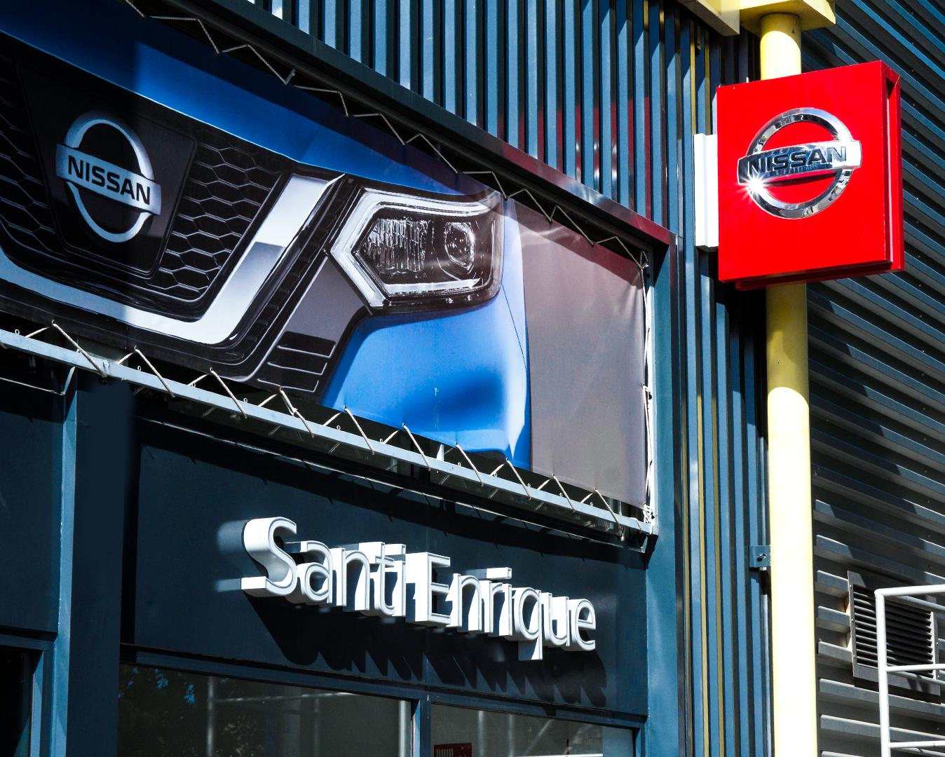 Nissan Santi Enrique està ubicat a la carretera de Rubí FOTO: Cedida