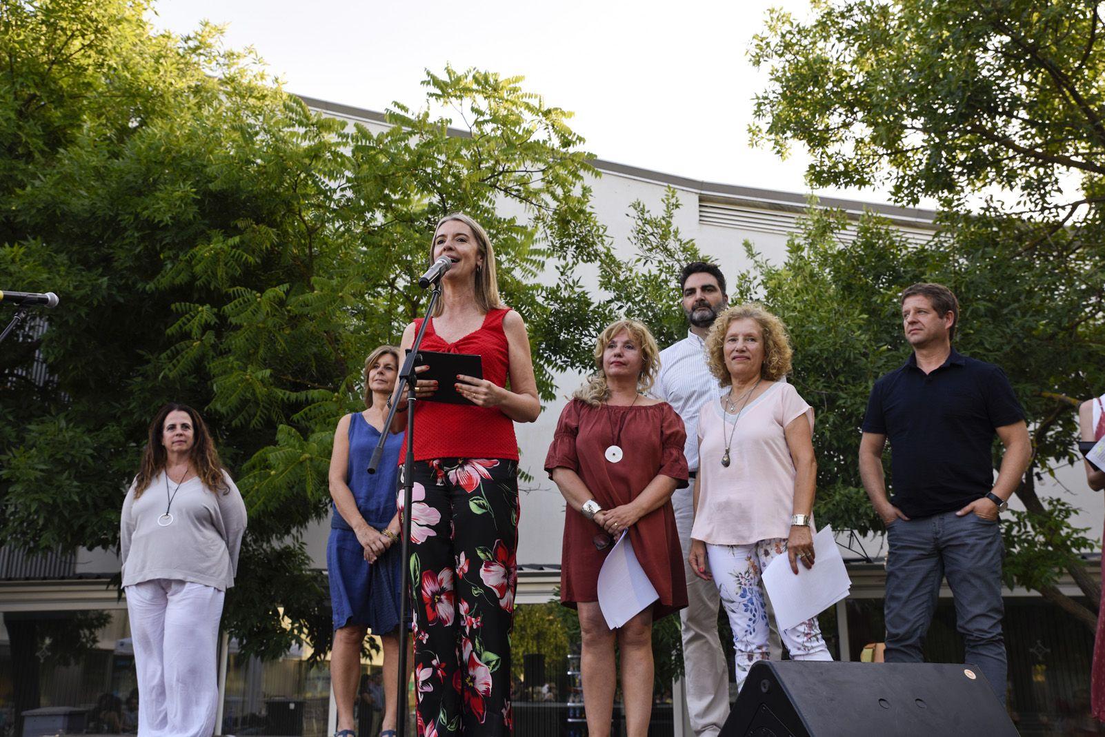 Pregó de Festa Major de Mira-sol. Foto: Bernat Millet.