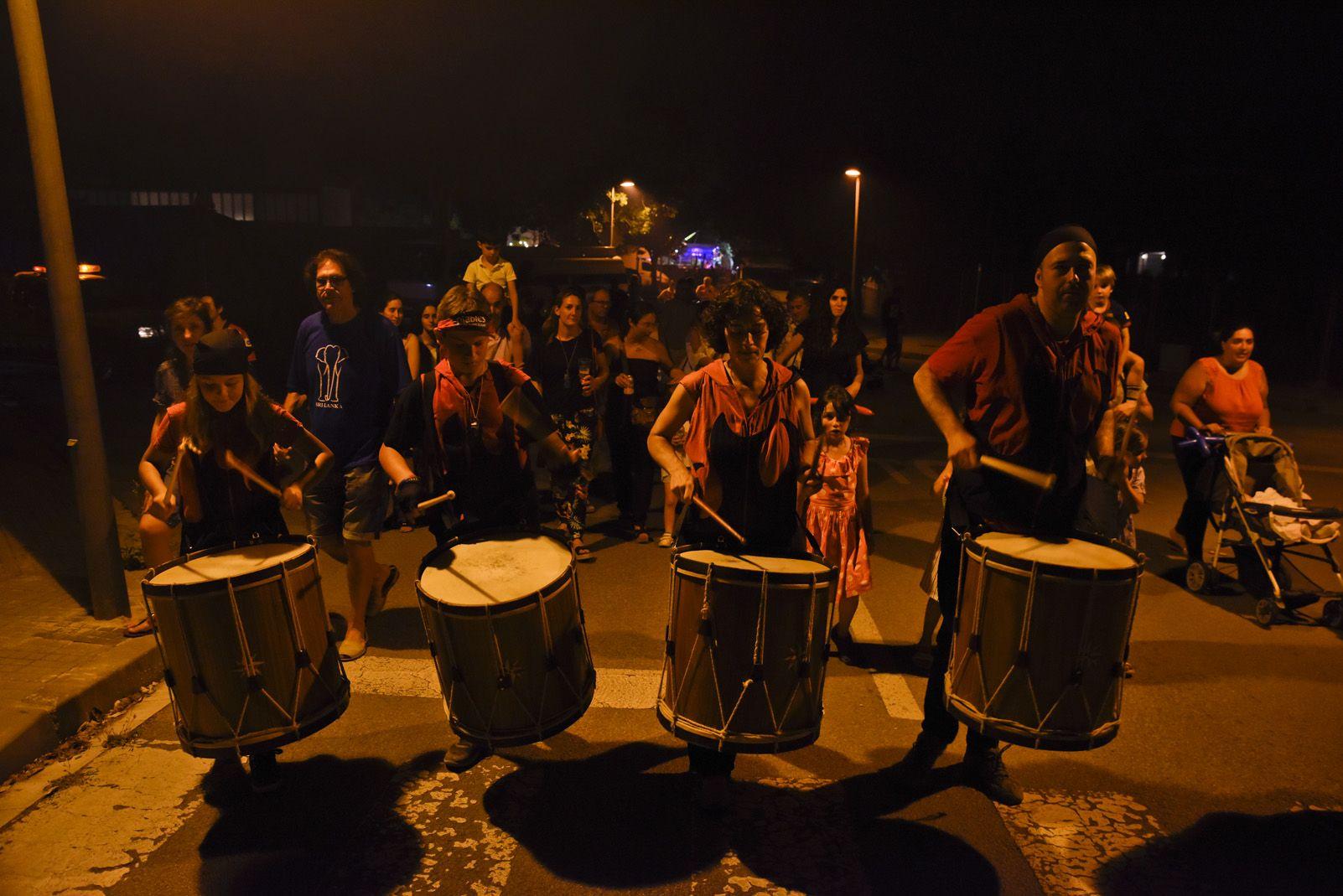 Correfoc de Festa Major de Mira-sol. Foto: Bernat Millet.