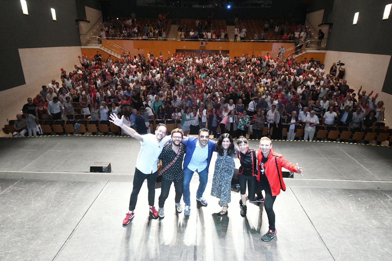 Presentació de la temporada 2019-20 al Teatre-Auditori. Foto: Jordi Garcia. Localpres.