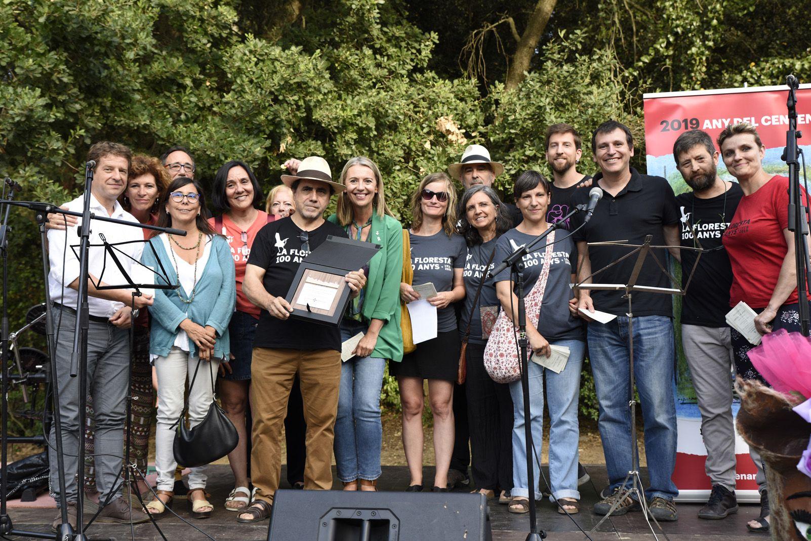Pregó de la Festa Major de La Floresta. Foto: Bernat Millet.