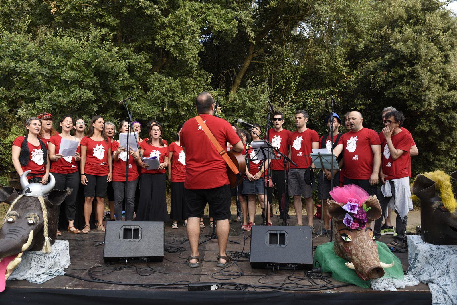 Concert de corals de la Festa Major de La Floresta. Foto: Bernat Millet.