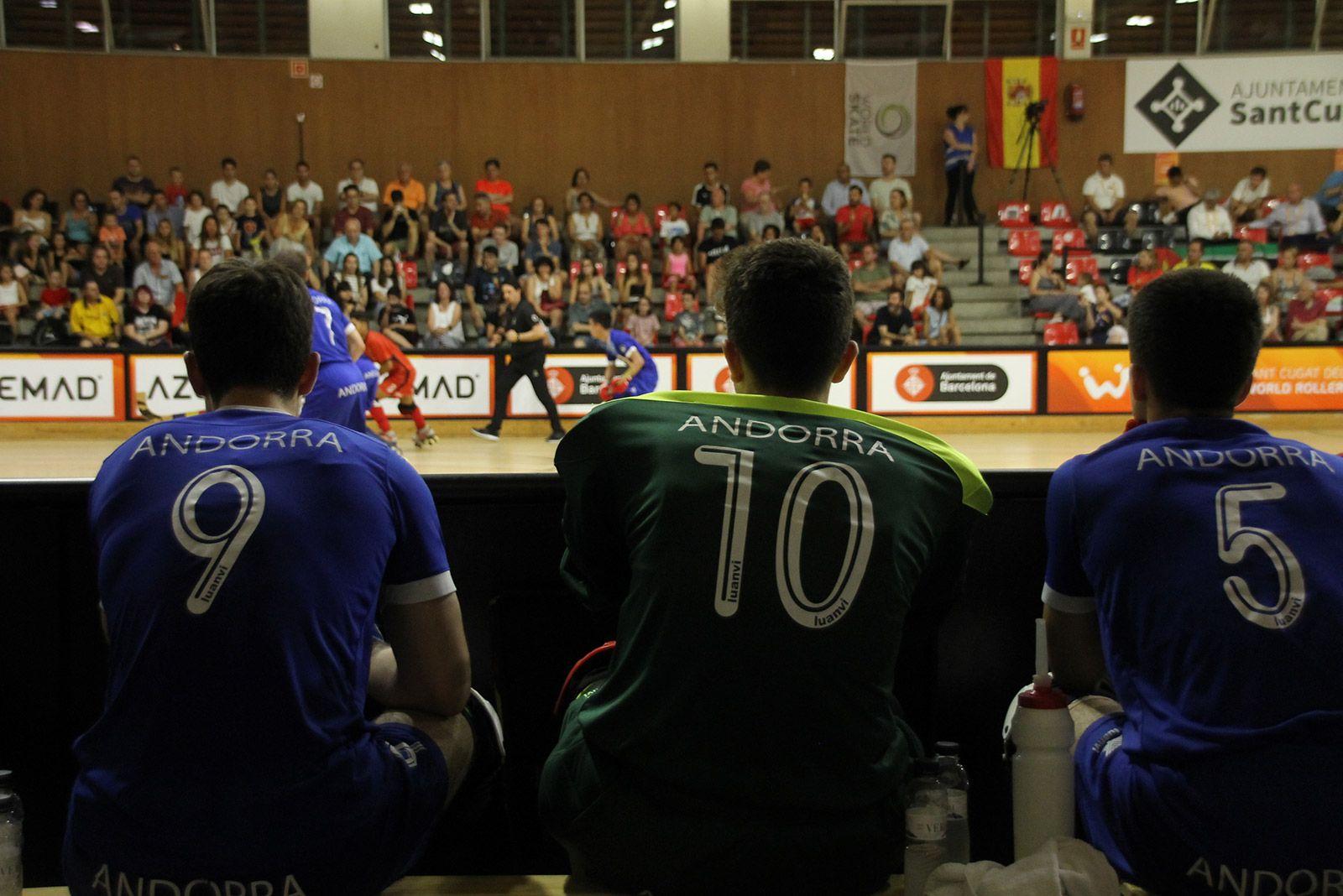 Final dels World Roller Games categoria masculina. FOTO: Paula Galván