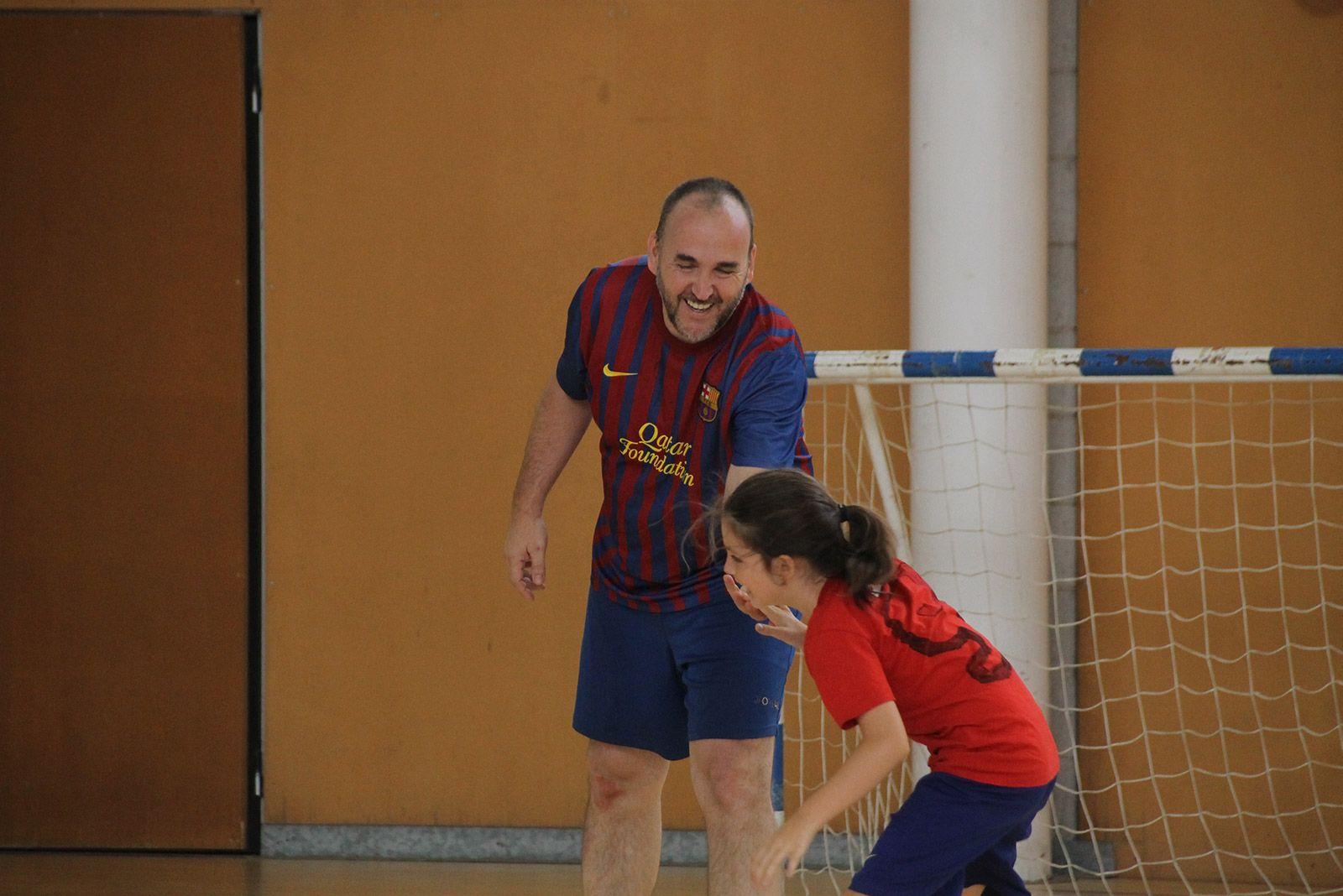 Torneig 3X3 de futbol sala per la Festa Major de La Floresta. FOTO: Paula Galván