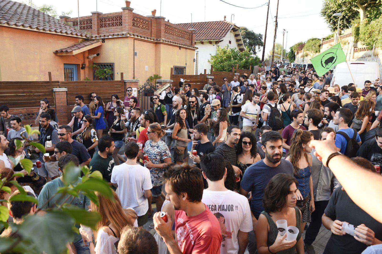 Cerca-tasques Floresta de Festa Major de La Floresta. Foto: Bernat Millet.