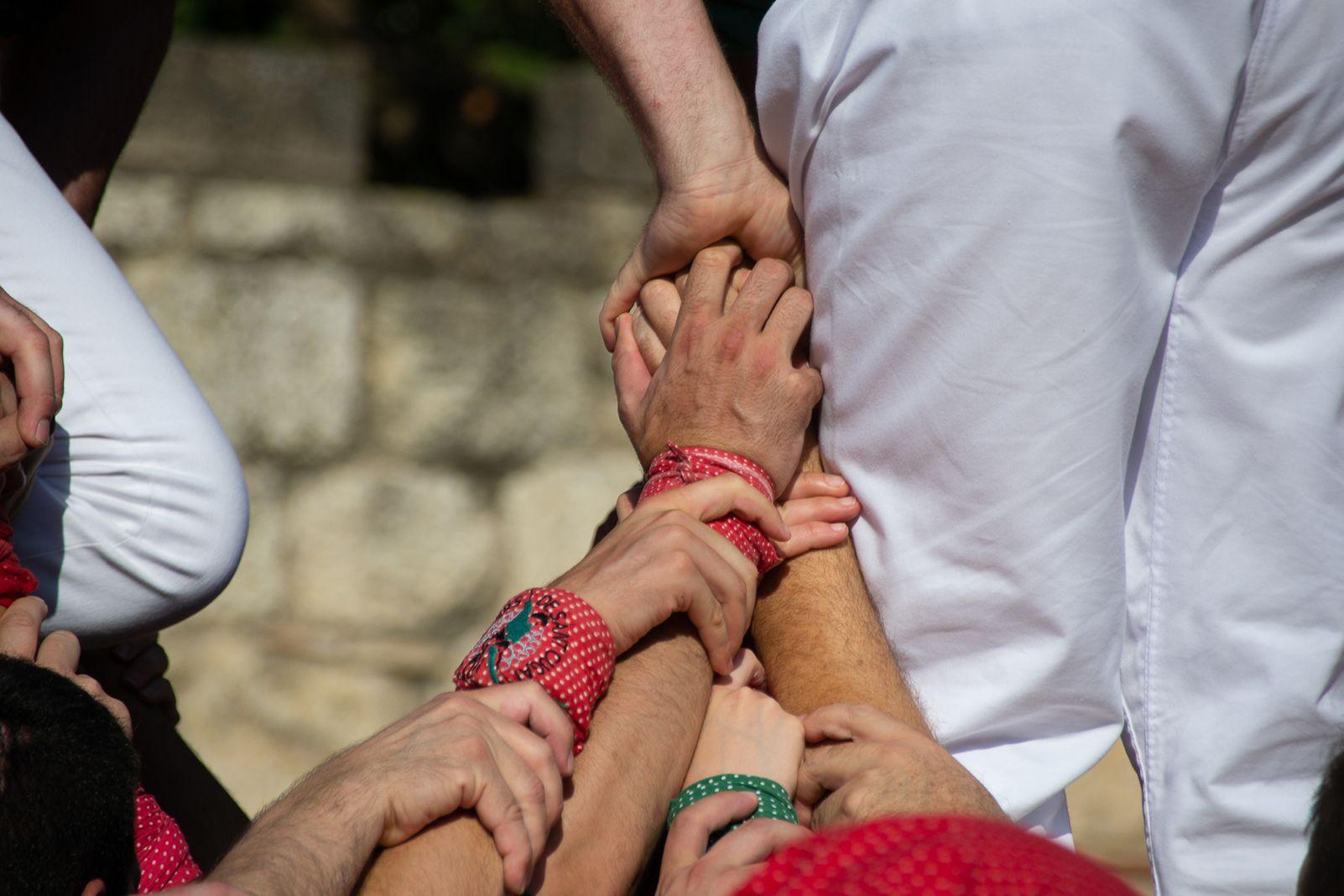 Diada Castellera de Sant Cugat. Foto: Silvia Polanco