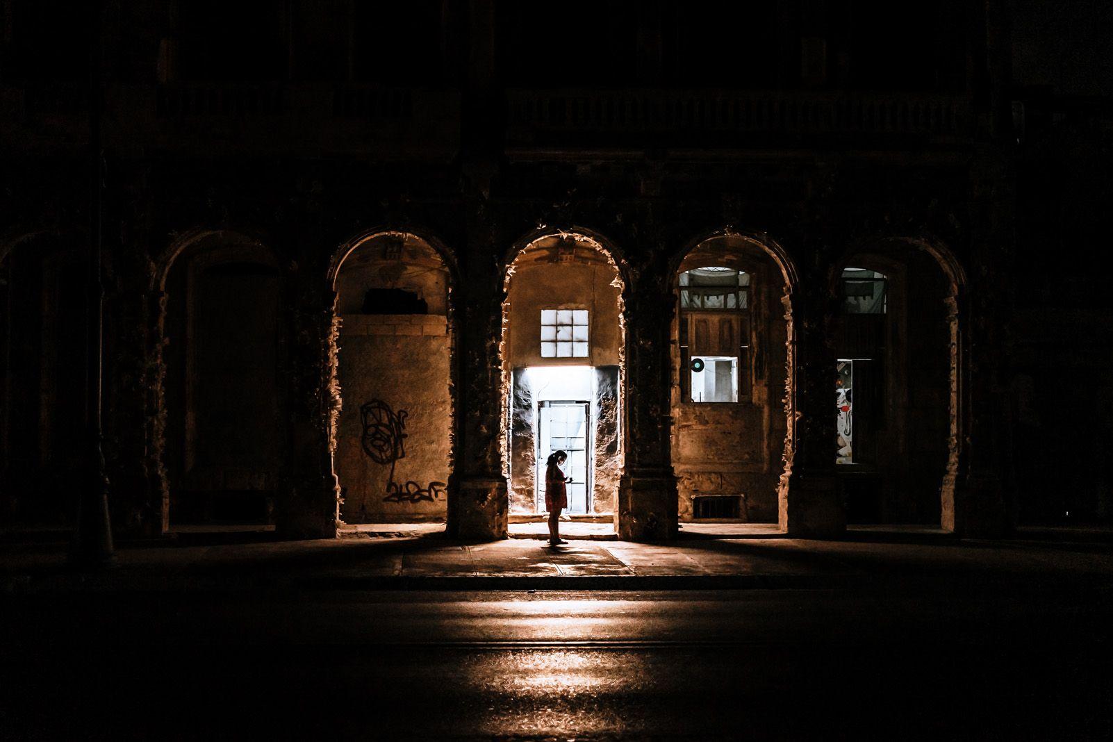"""""""Solo tu puedes brillar con luz propia"""" a Cuba. Foto: David Heredia Ochoa."""