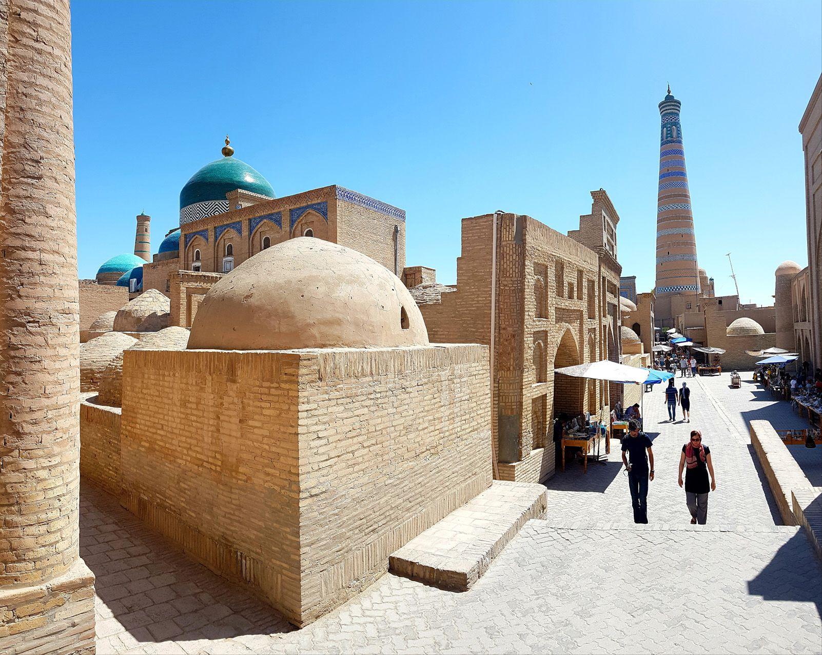 """""""Tarde en Jiva"""" a Jiva, Uzbekistan. Foto: José Antonio Lorenz."""