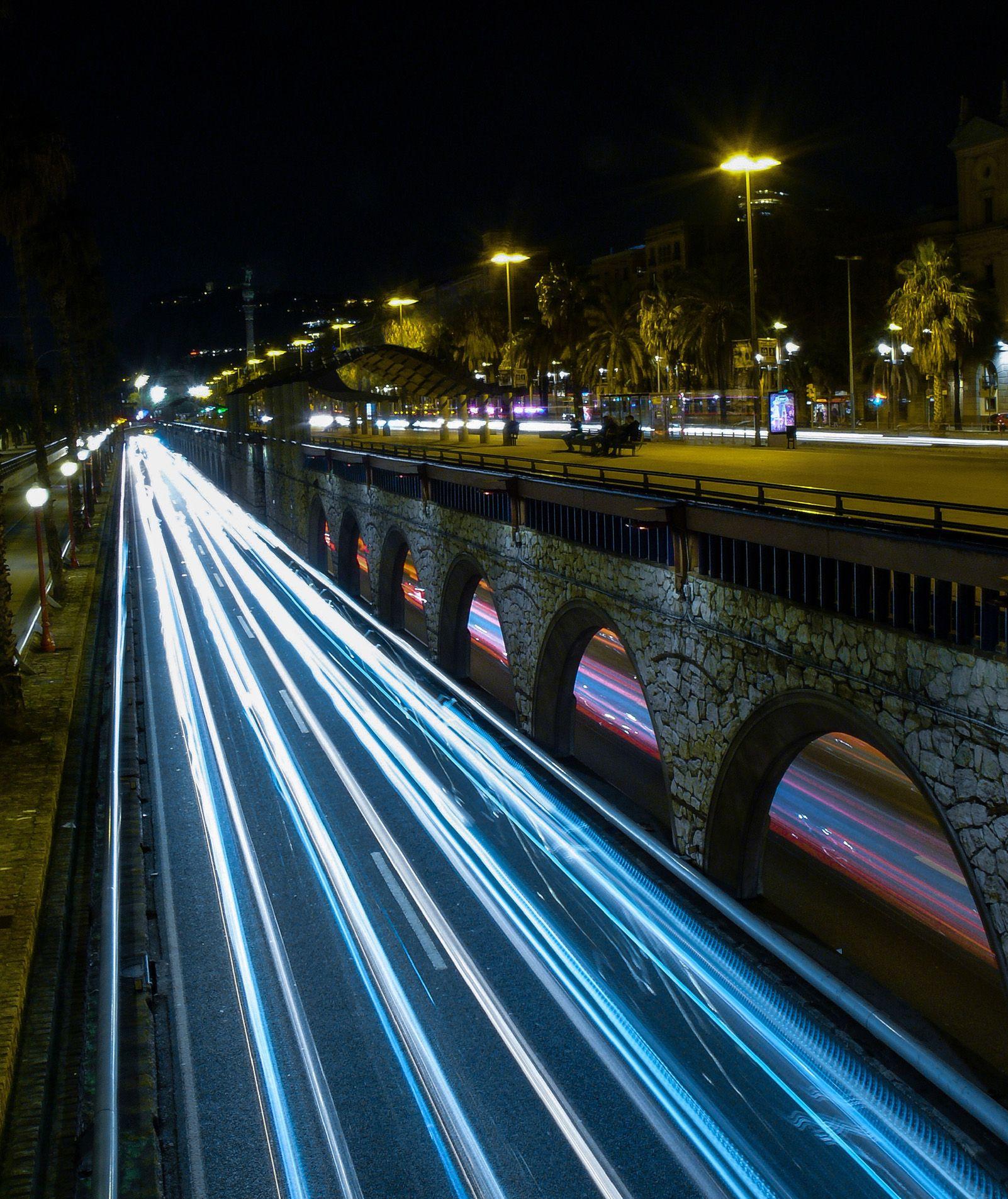 """Barcelona nocturna"" Foto: Ricard Rossy."