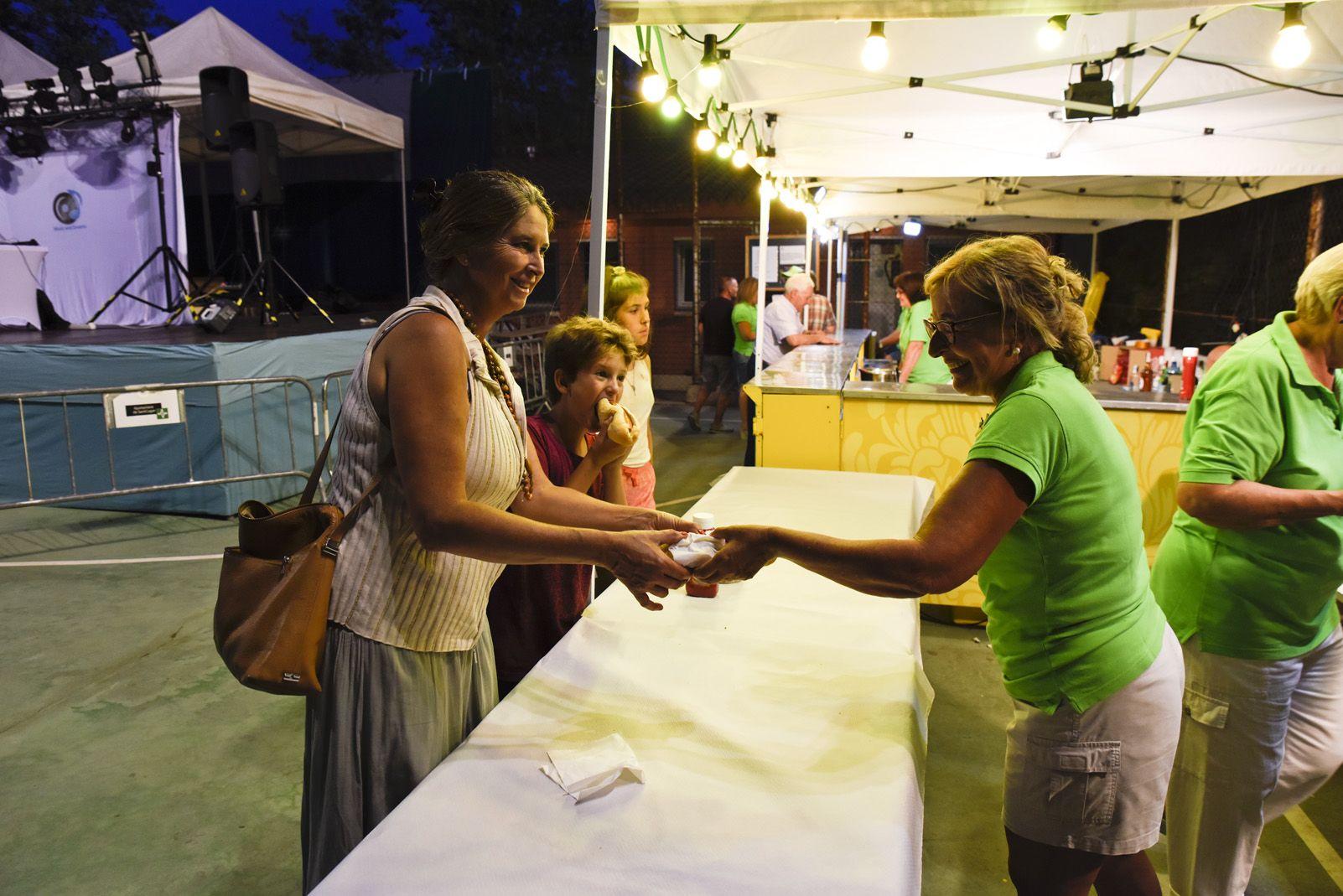 Sopar de Festa Major de Mas Gener. Foto: Bernat Millet.