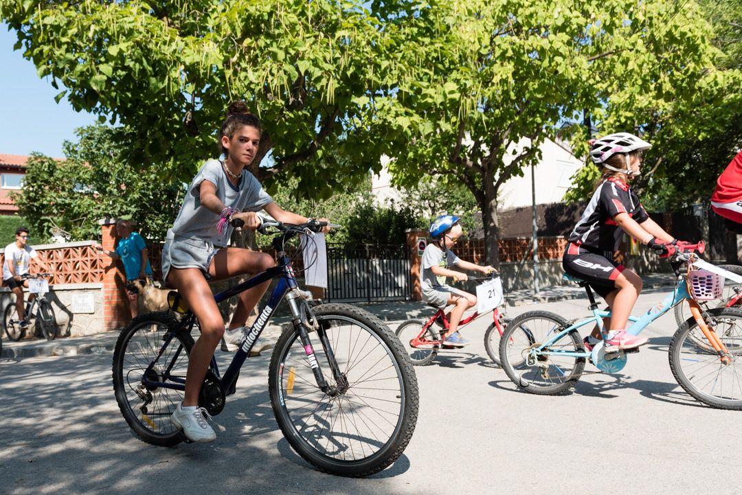Festa Major de Mas Gener. Bicicletada popular. Foto: Miguel López Mallach
