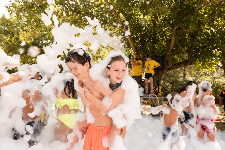 Festa Major de Mas Gener. Gran festa de l'escuma. Foto: Miguel López Mallach