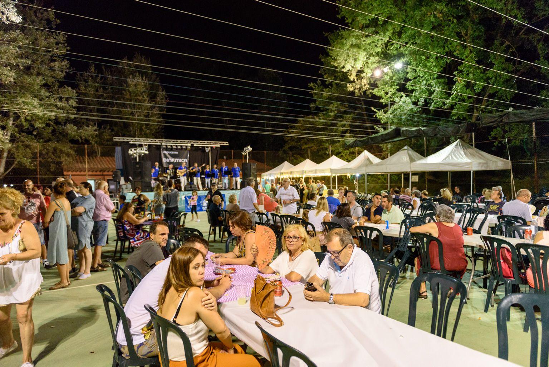 Festa Major de Mas Gener. Botifarrada polular. Foto: Miguel López Mallach