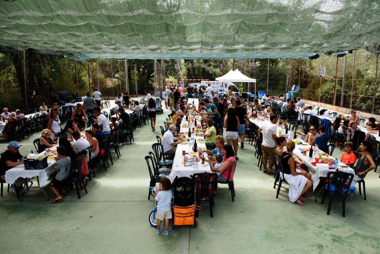 Festa Major de Mas Gener. Arrossada popular. Foto: Miguel López Mallach