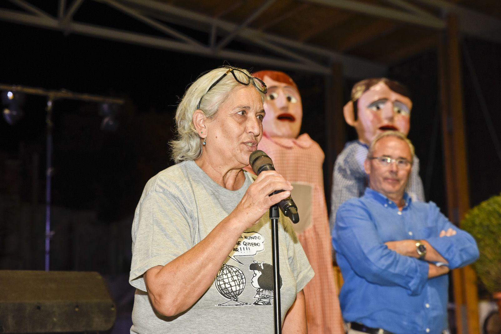 Pregó de Festa Major de Les Planes. Foto: Bernat Millet.