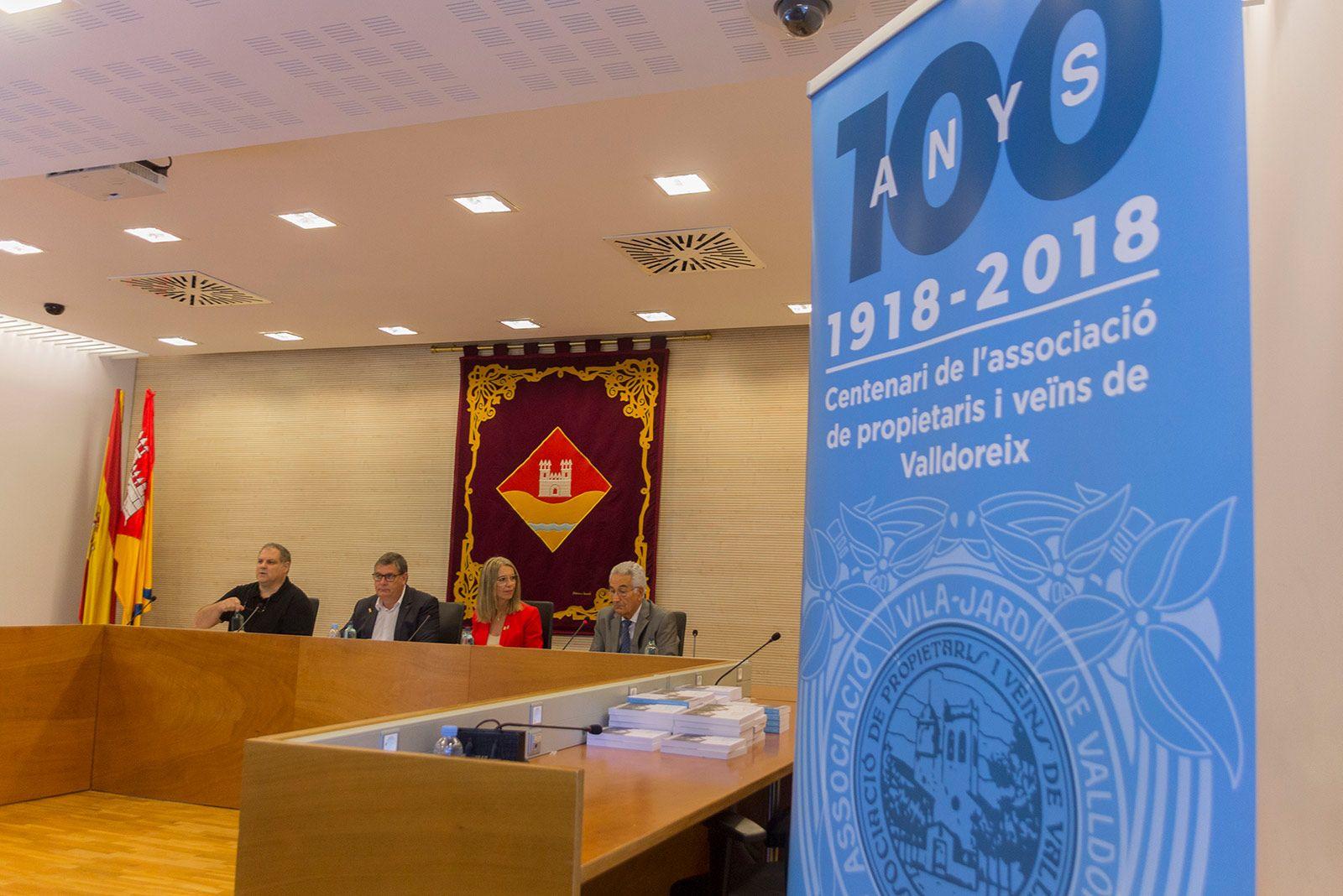 Acte central del Centenari de l'Associació de veïns i propietaris de Valldoreix. FOTO: Paula Galván
