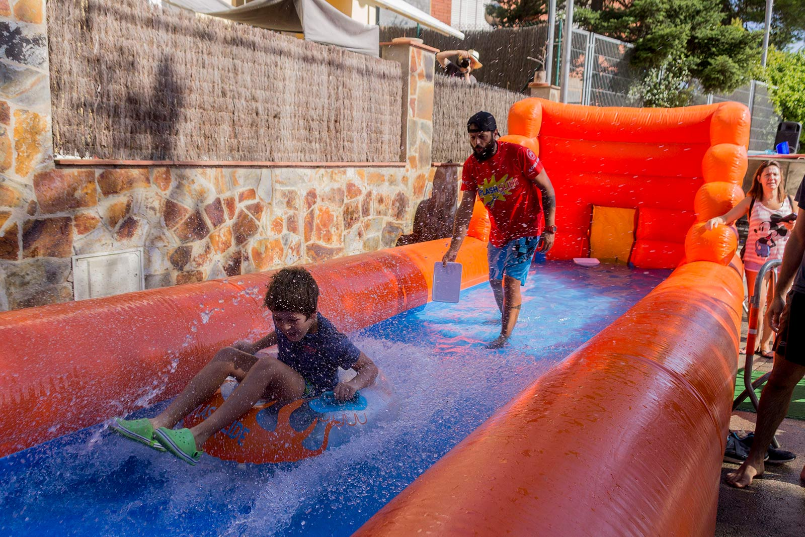 Tobogan d'aigua gegant. FOTO: Paula Galván